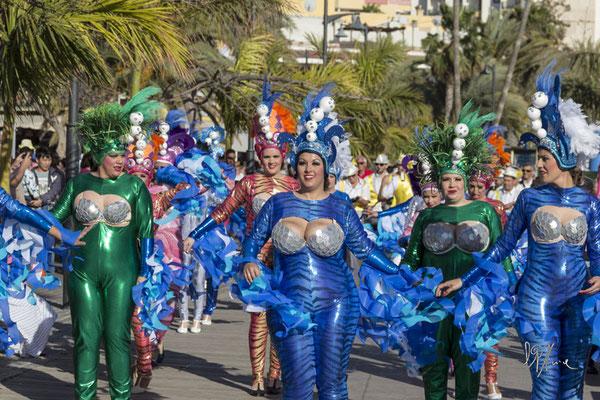 Il corteo dell'abbondanza - (Tenerife 2015)