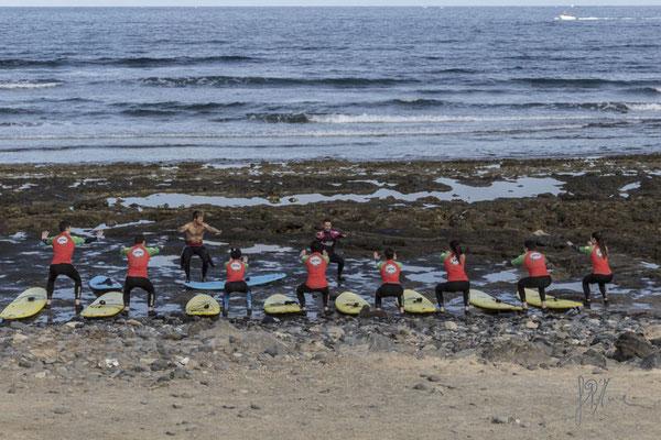 Lezione di windsurf - (Tenerife 2015)