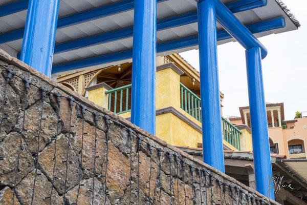 Le colonne blu - (Tenerife 2015)
