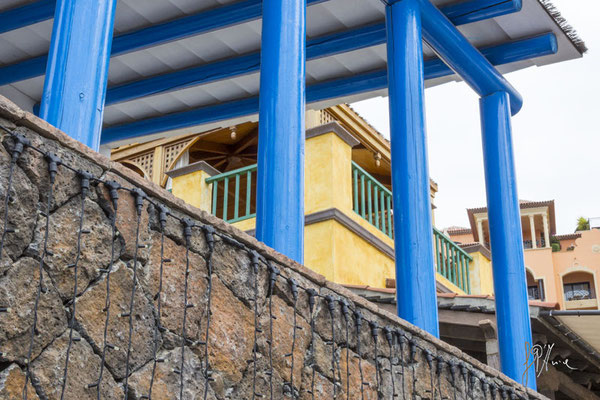 Le colonne blu - Tenerife  - (2015)