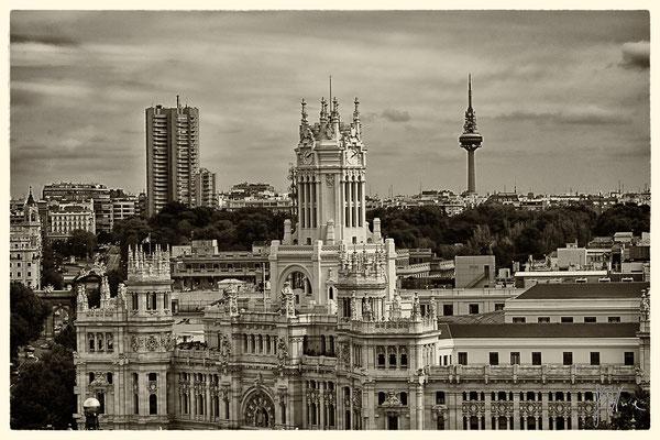 Dalla terrazza del Circulo de Bellas Artes