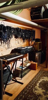 Hallway/Keyboards & Amps Room -2