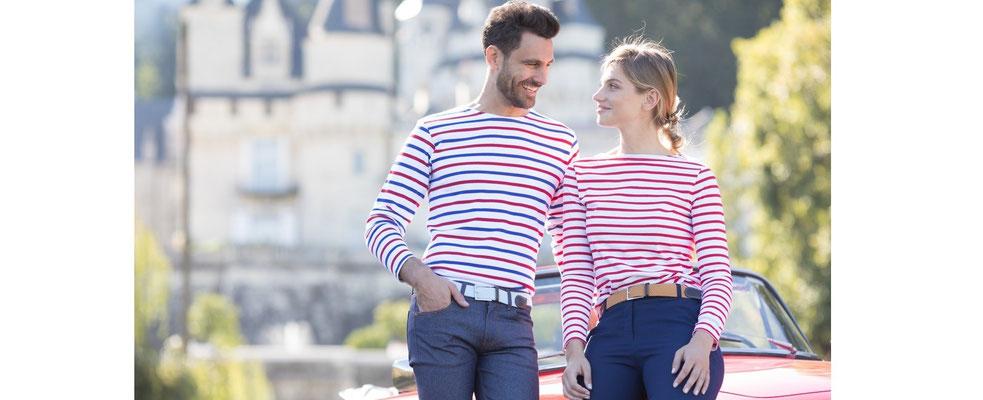 Marinière Tricolore homme & femme