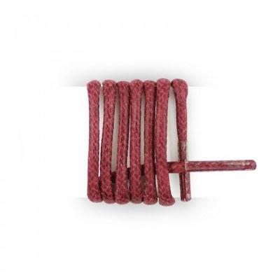 Lacet de couleur rouge fabrication Française