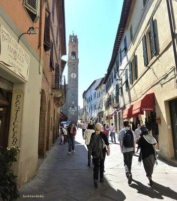 モンタルチーノ 村の様子