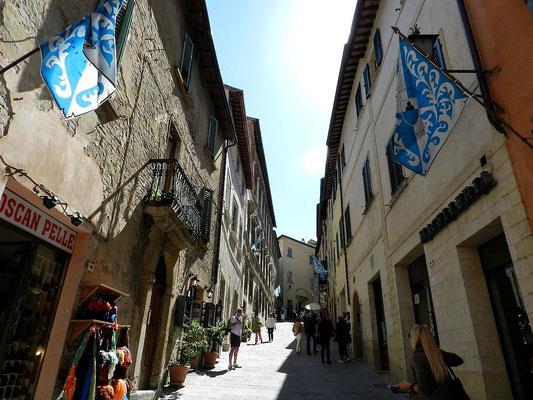 モンテプルチャーノ 村の様子