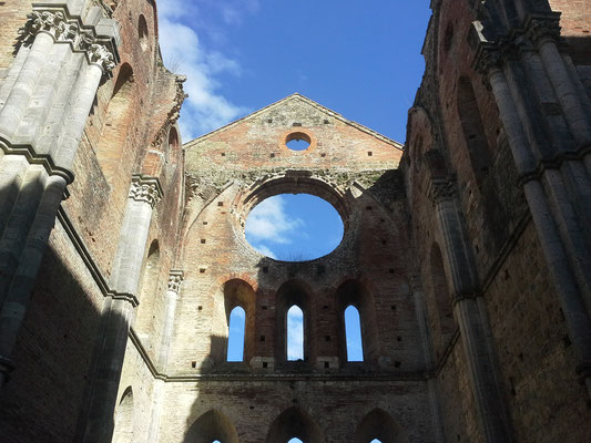 トスカーナ修道院めぐり サンガルガーノ