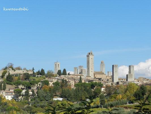 塔の町サンジミニャーノ 絶景
