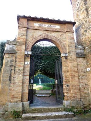 ルネッサンス式庭園 HORTI LEONINI