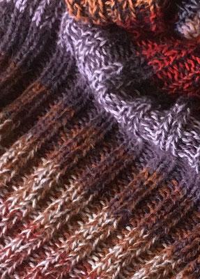 Schal aus Alpacawolle von alpavia-design.ch