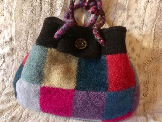 Filztasche im Karo-Look von alpavia-design