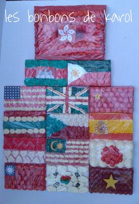 15 drapeaux