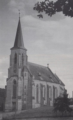 Pfarrkirche um 1917, Quelle Chronik 1991