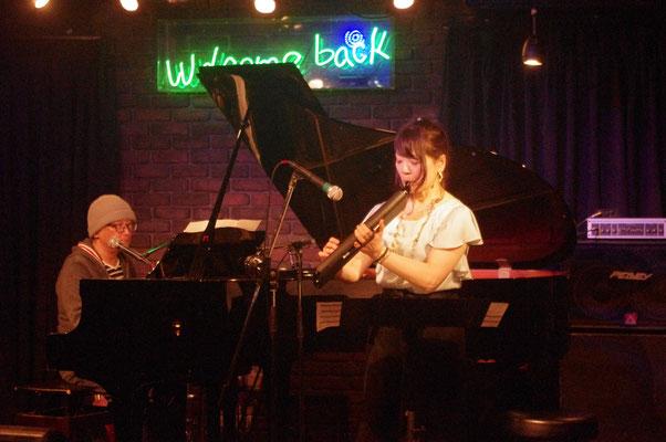 鍵盤ハーモニカはライブハウスで初!