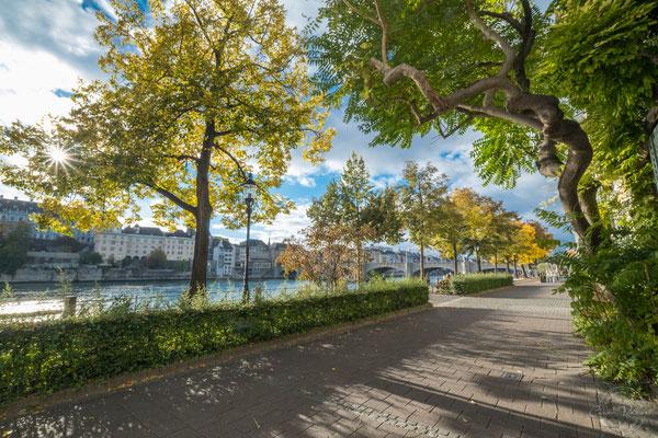 Rheinpromenade in Basel