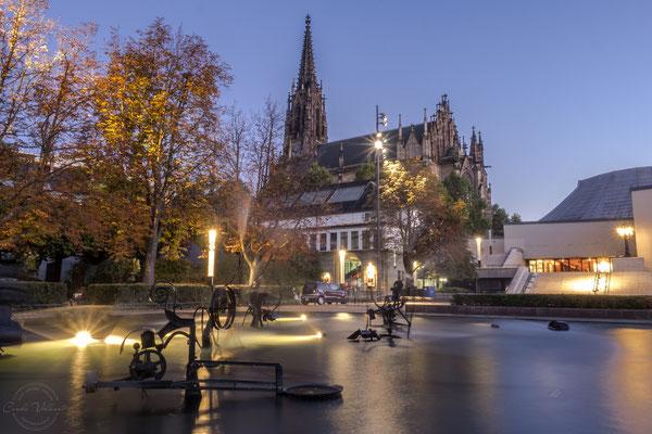 Tinguelybrunnen in Basel