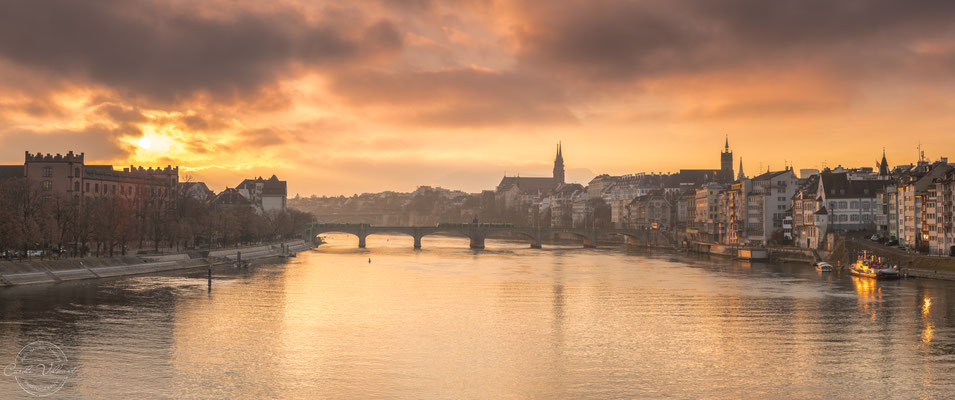 Sonnenaufgang in Basel
