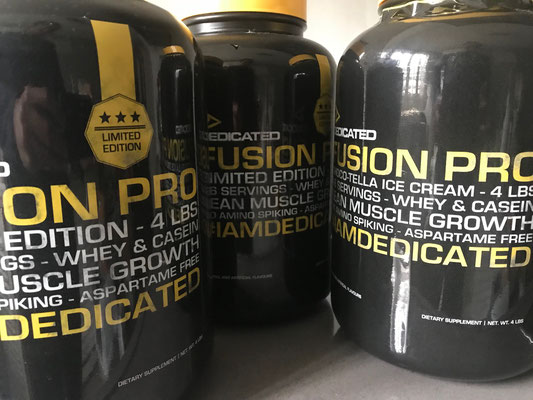 Dedicated Nutrition - Fusion Pro