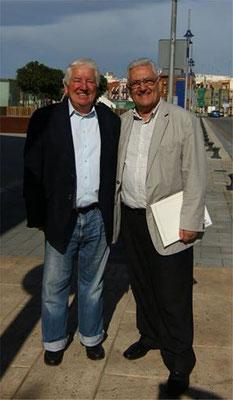 Benoît Junod, Executive Manager von FISAE, und M. C. Hierro, Präsident von FISAE 2014, Tarragona