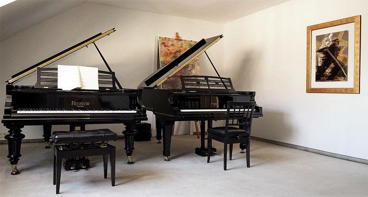 Klavierstudio M. Poliatskin | Erbprinzenstr. 8 Freiburg