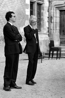 Mit Manuel Nawri in Frankreich | vor dem Konzert