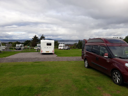 9 - Ardtower Campsite Inverness