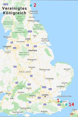 Übersicht England
