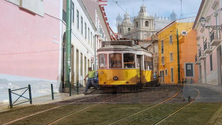 Portugal Lissabon mit der Tramp erleben.