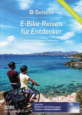 E-Bike Radreisen mit unserem Partner Belvelo jetzt Erlebnisse bei Singer Reisen Hamburg buchen...nd S