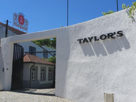 Portweinkellerei Taylors - Taylors Porteine bei Singer Portwein bestellen...