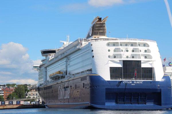 MINI-KREUZFAHRTEN von Kiel-Oslo-Kiel; testen Sie Ihre Kreuzfahrt preiswert...