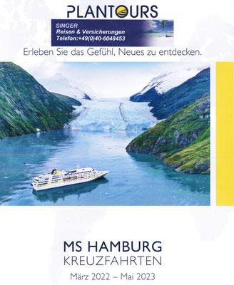 MS Hamburg und Singer Reisen und Versicherungen jetzt 2022 buchen...