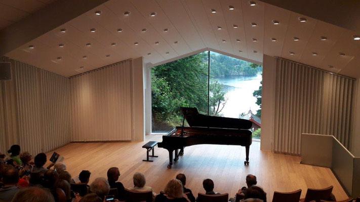 Bergen/Norwegen Ausflug zum Grieg in Troldhaugen...
