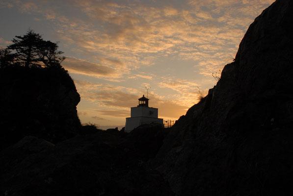 amphitrite lighthouse, ucluelet, vancouver island; bc