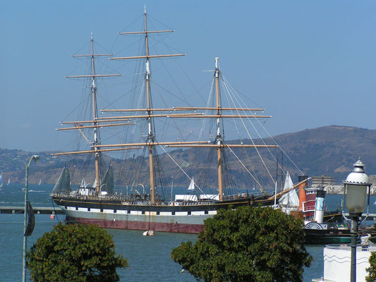 the balcutha, san francisco; ca