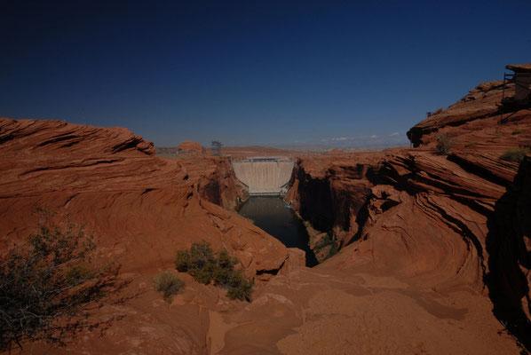 glen canyon dam, page; az
