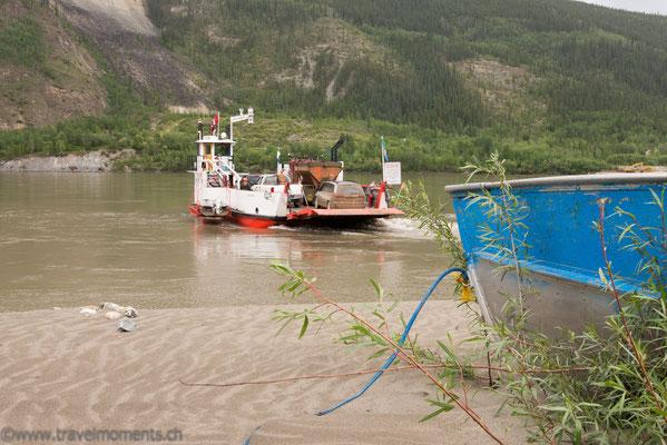 Yukon-Fähre nach Dawson City