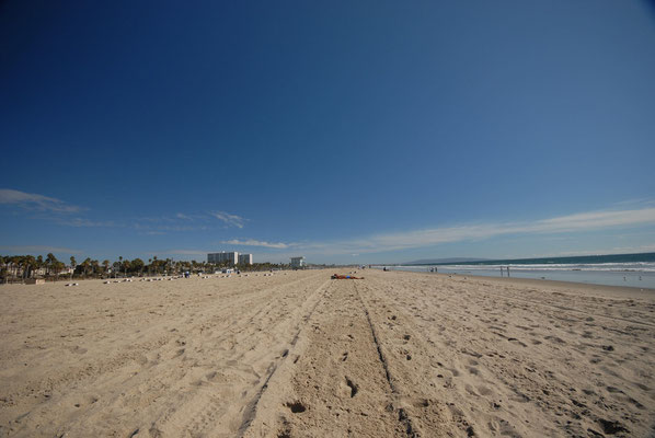 santa monica beach, santa monica; ca