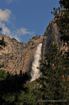 upper yosemite fall, yosemite np; ca