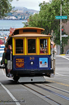 cable car, san francisco; ca
