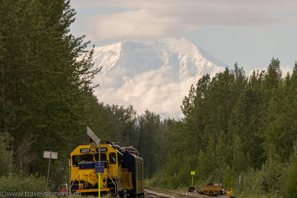 Mt. McKinley von Talkeetna aus