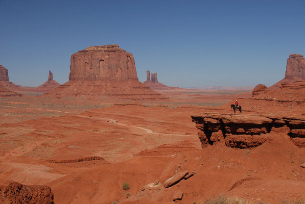 john ford point, monument valley; ut