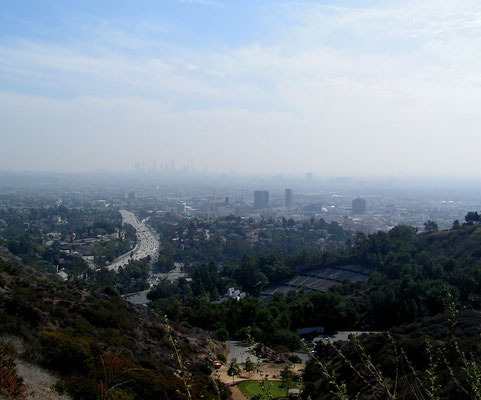 mulholland drive, hollywood; ca