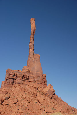 totem pole, monument valley; ut