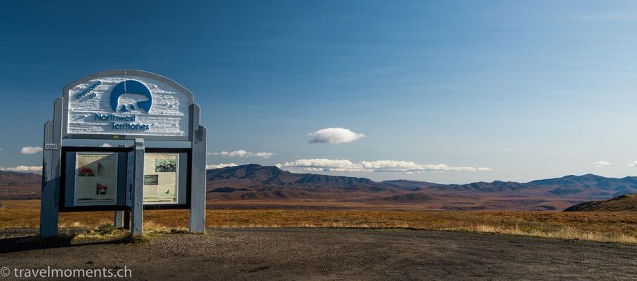 Yukon - Northwest Territory Border, Dempster Hwy