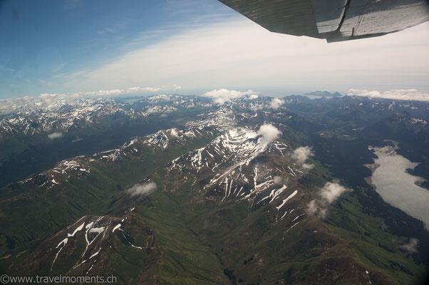 Flug nach Katmai