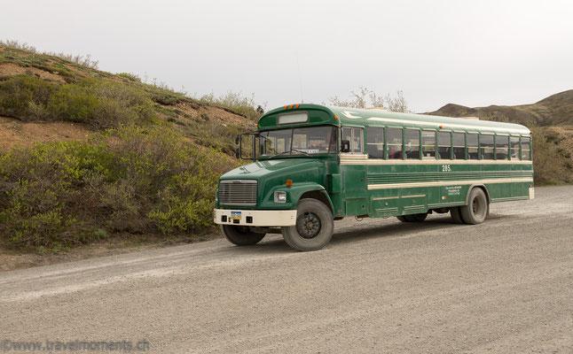 Denali NP, Shuttle Bus