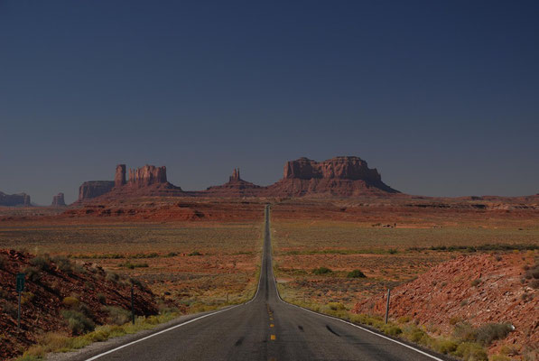 hwy 163, monument valley; ut