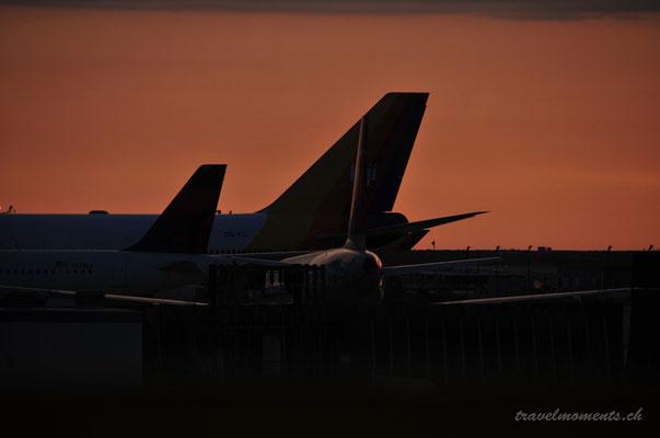 la intl. airport; ca