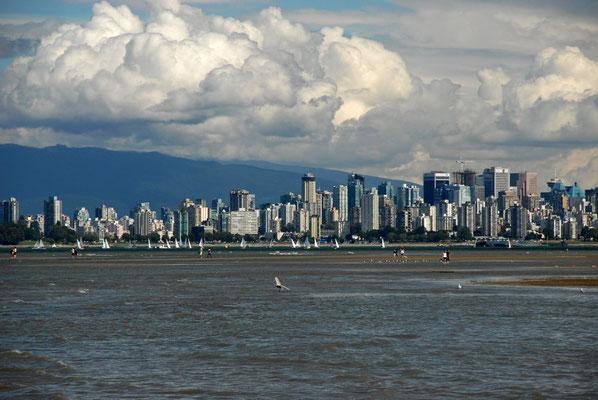 skyline, vancouver; bc